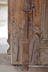 Bottom Of Old Door,Town Of Sinasos