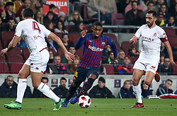 December 5, 2018 - Barcelona, Spain - Malcom during the match between FC Barcelona and Cultural Leonesa, corresponding to the 1/16 final of the spanish King Cuo, played at the Camp Nou Stadium on 05th December 2018 in Barcelona, Spain. Photo: Joan Valls/Urbanandsport /NurPhoto. (Credit Image: © Joan Valls/NurPhoto via ZUMA Press)