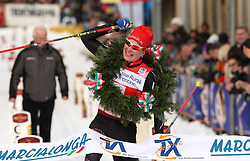 MARCIALONGA 2010 ..© Pierre Teyssot / Sportida.com..HANSSON Jenny (SWE) ended first ladies of the 37th Marcialonga on 31/01/2010, 2010 in Predazzo - Cavalese, Italy. Oskar SVARD (SWE) ended first after 3 hours and 4 minutes of competitions and 70 km. The first Slovenian, Andraz Vehovar ended at the position 992..