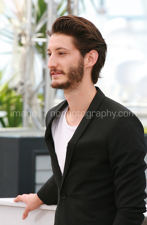 Actor Pierre Niney at the Inside Out film photo call at the 68th Cannes Film Festival Monday May 18th 2015, Cannes, France.