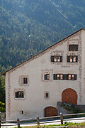 Lavin is a municipality in the district of Inn in the Swiss canton of Graubünden