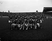22/10/1961<br /> 10/22/1961<br /> 22 October 1961<br /> Oireachtas Final: Tipperary v Wexford at Croke Park, Dublin.<br /> Tipperary Team.