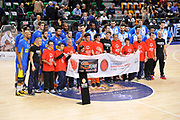 DESCRIZIONE : Eurolega Euroleague 2015/16 Group D Dinamo Banco di Sardegna Sassari - Maccabi Fox Tel Aviv<br /> GIOCATORE : One Team Special Olympics<br /> CATEGORIA : Before Pregame Fair Play<br /> EVENTO : Eurolega Euroleague 2015/2016<br /> GARA : Dinamo Banco di Sardegna Sassari - Maccabi Fox Tel Aviv<br /> DATA : 03/12/2015<br /> SPORT : Pallacanestro <br /> AUTORE : Agenzia Ciamillo-Castoria/C.Atzori