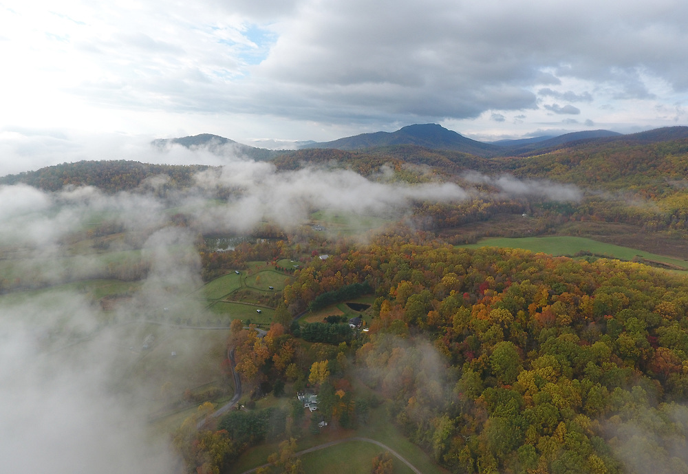 The Scenic Mountains Central Virginia near Charlottesville, Va.  Photo/Andrew Shurtleff Photography, LLC