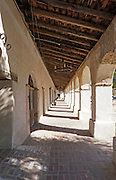 Hallway at the Mission San Miguel