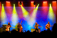 The Avett Brothers play at Grace Potter and the Nocturnals' Grand Point North festival at Waterfront park on Saturday September 15, 2012 in Burlington, Vermont.