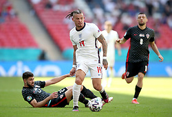 England's Kalvin Phillips in action during the UEFA Euro 2020 Group D match at Wembley Stadium, London. Picture date: Sunday June 13, 2021.