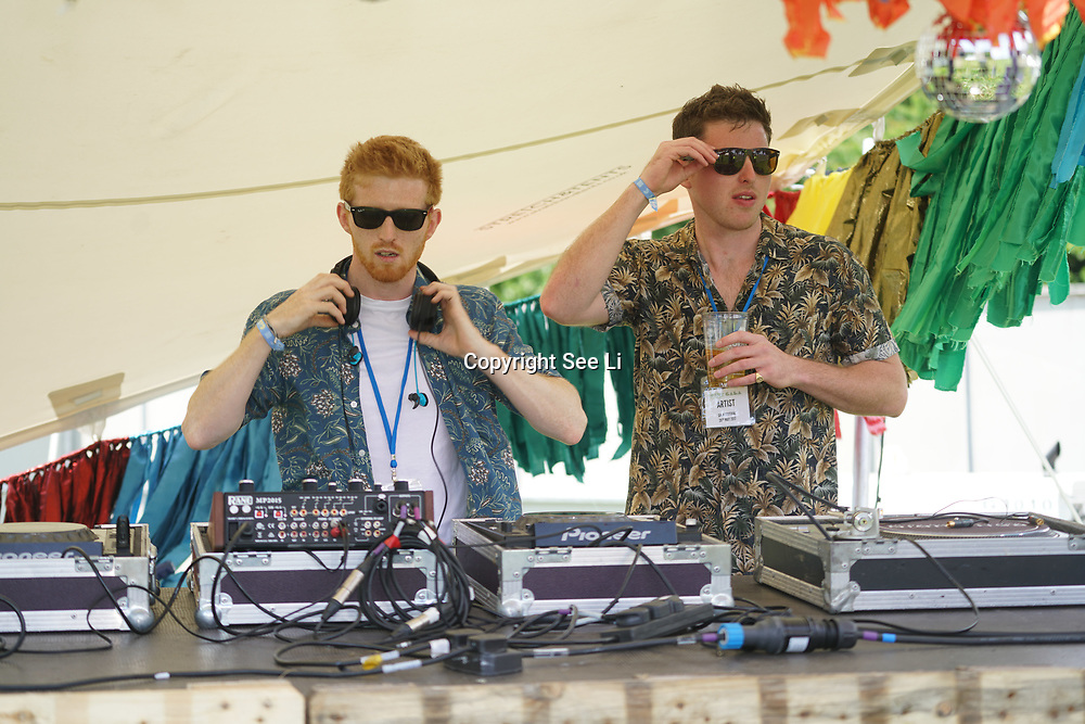 12 inch preforms at the GALA Festival 2017 on 28th May 2017 at Brockwell Park, Brixton, London,UK. by See Li