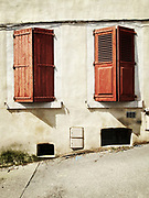 Streets of Romans-sur-Isere, France