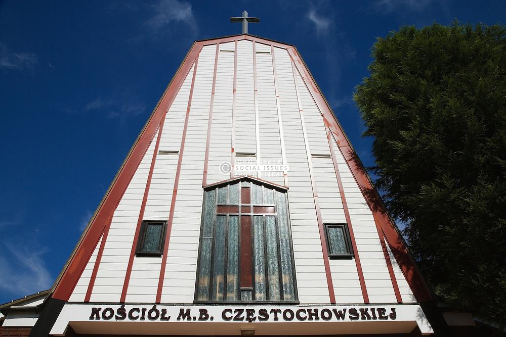 Façade of the Polish Church; Sherwood Rise; Nottingham,
