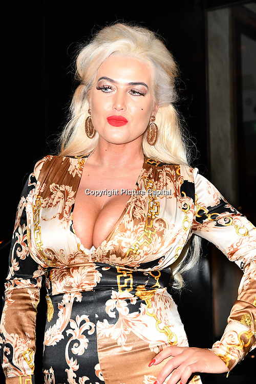 Barbara Doran attend TMA Talent Management Group host launch party for their new dating app, The List at 100 Wardour Street  on 3rd April 2019, London, UK.