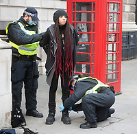 London comes to a standstill due to Save our Rights UK anti lockdown and anti vaccine protest organised by Save our Rights UK cause chaos around London ,police detained 155 people for breaching coronavirus restrictions, assaulting a police officer and drug possession photo by Brian Jordan