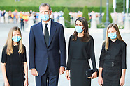 070620 Spanish Royals attends Covid-19 mass Funeral