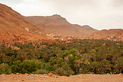 Sahara Desert Oasis and Landscape Photographed in Morocco