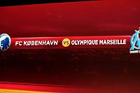 FOOTBALL - MISCS - UEFA EUROPA LEAGUE 2010 - 1/16 FINAL DRAW - 18/12/2009 - PHOTO DPPI - FC COPENHAGEN v OLYMPIQUE MARSEILLE'S MATCH ILLUSTRATION