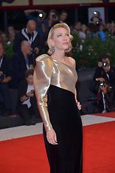 "75th Venice Film Festival. Red carpet film ""Suspiria"". Dakota Johnson, Luca Guadagnino, Tilda Swinton. 01 Sep 2018 Pictured: Cate Blanchett. Photo credit: KILPIN / MEGA TheMegaAgency.com +1 888 505 6342"