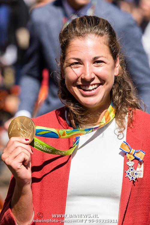 NLD/Den Haag/20160824 - Huldiging sporters Rio 2016, Ilse Paulis