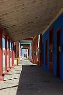 Walkway in Gibara, Holguin, Cuba.