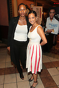 September 20, 2012- New York, New York:  (L-R) Janine Liburd, EVP, Corporate Communications, BET Networks and Gabriel Glore, Executive Director, Urbanworld Film Festival attend the 2012 Urbanworld Film Festival Opening night premiere screening of  ' Being Mary Jane ' presented by BET Networks held at AMC 34th Street on September 20, 2012 in New York City. The Urbanworld® Film Festival is the largest internationally competitive festival of its kind. The five-day festival includes narrative features, documentaries, and short films, as well as panel discussions, live staged screenplay readings, and the Urbanworld® Digital track focused on digital and social media. (Terrence Jennings)