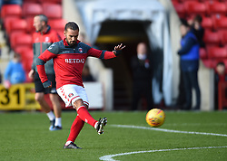 Charlton Athletic's Ricky Holmes during warm up