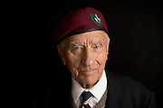 Mcc0061504 . Daily Telegraph<br /> <br /> Telegraph Magazine<br /> <br /> D Day Veterans<br /> <br /> Pat Turner who was a Glider borne trooper in B Company of the Oxfordshire and Bucks Light Infantry , 6 Airborne Division that successfully took and held Pegasus in the early hours of D Day .<br /> <br /> Essex 16 April 2015