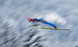31.12.2014, Olympiaschanze, Garmisch Partenkirchen, GER, FIS Ski Sprung Weltcup, 63. Vierschanzentournee, Training, im Bild Dawid Kubacki (POL) // during Trial Jump of 63rd Four Hills <br /> Tournament of FIS Ski Jumping World Cup at the Olympiaschanze, Garmisch Partenkirchen, Germany on 2014/12/31. EXPA Pictures © 2014, PhotoCredit: EXPA/ JFK