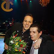 Harpengala 2004, Frans Bauer en broer Dorus