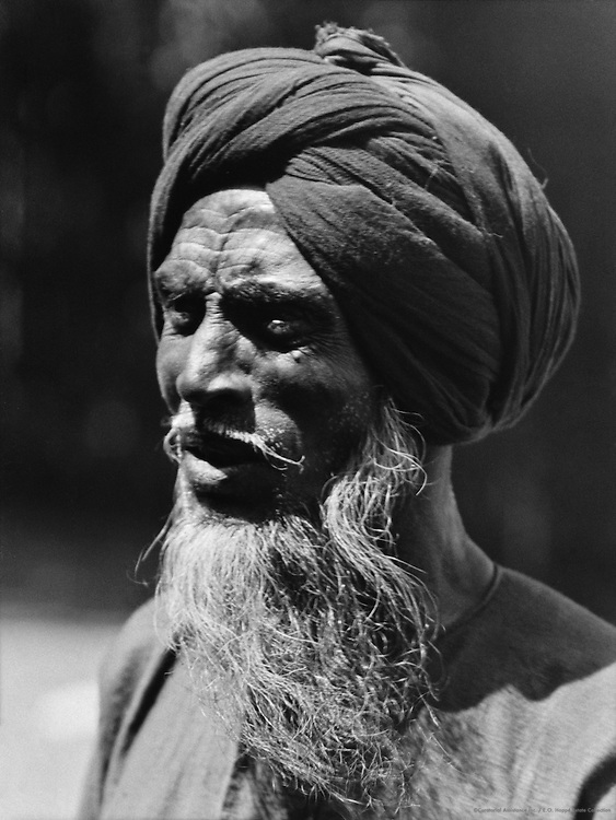 A Sikh Railway Pointsman, Lahore, India, 1929
