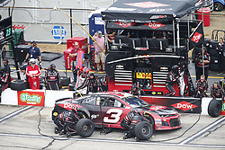 July 22, 2018 - Loudon, New Hampshire, United States of America - Austin Dillon (3) comes down pit road for service during the Foxwoods Resort Casino 301 at New Hampshire Motor Speedway in Loudon, New Hampshire. (Credit Image: © Justin R. Noe Asp Inc/ASP via ZUMA Wire)