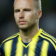 Fenerbahce's Michal Kadlec during the UEFA Champions League Play-Offs First leg soccer match Fenerbahce between Arsenal at Sukru Saracaoglu stadium in Istanbul Turkey on Wednesday 21 August 2013. Photo by Aykut AKICI/TURKPIX