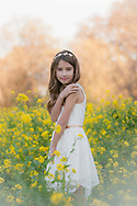 Children's portraits photographed in the wildflowers by Kristina Cilia Photography of Vacaville, CA