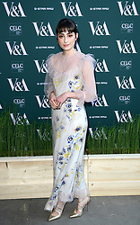 Ellise Chappell attending the VIP preview for the V&A Museum's Fashioned From Nature exhibition, in London. Picture date: Wednesday April 18, 2018. Photo credit should read: Ian West/PA Wire