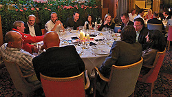 Gala Dinner at Badrutt's Palace Hotel. St Moritz Match Race 2010. World Match Racing Tour. St Moritz, Switzerland. 4th September 2010. Photo: Ian Roman/WMRT.