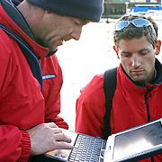 La course des Falaises 2004. Départ de Cowes.