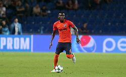August 16, 2017 - Medipol Basaksehir's Joseph Attamah  during Medipol Basaksehir - Sevilla UEFA Champions League Play - Off 1st round game at Istanbul Fatih Terim Stadium, 16th August, 2017. (Credit Image: © Tolga Adanali/Depo Photos via ZUMA Wire)