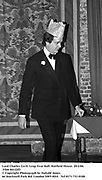 Lord Charles Cecil. Leap Year Ball. Hatfield House. 29/2/84. Film 84122f5<br />© Copyright Photograph by Dafydd Jones<br />66 Stockwell Park Rd. London SW9 0DA<br />Tel 0171 733 0108