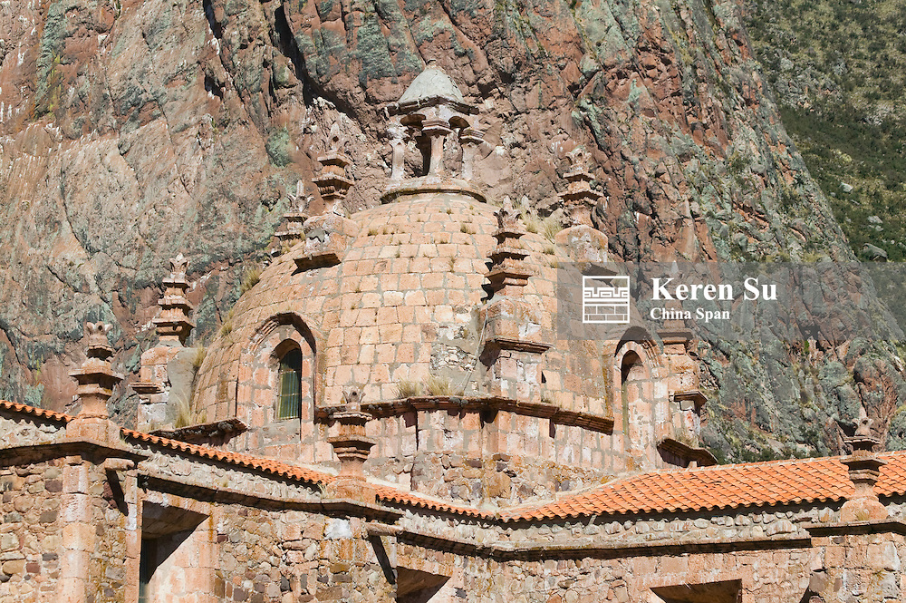 Old church near Puno, Peru