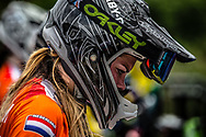 #75 (VAN BENTHEM Merle) NED at the 2016 UCI BMX World Championships in Medellin, Colombia.
