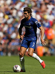 Chelsea's Marcos Alonso in action