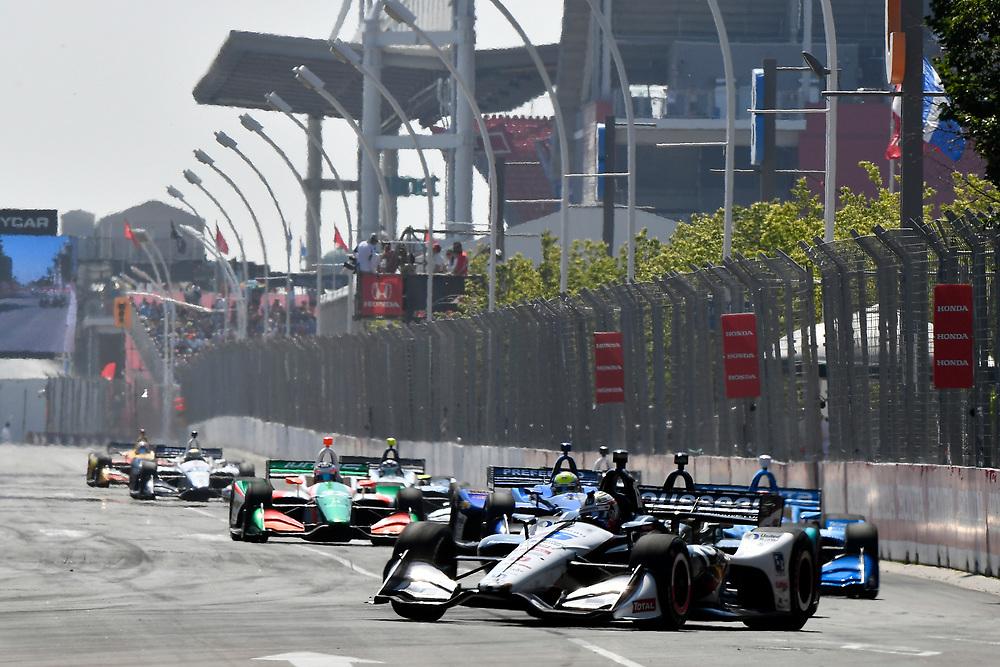 Graham Rahal, Rahal Letterman Lanigan Racing Honda<br /> Sunday 15 July 2018<br /> Honda Indy Toronto<br /> Verizon IndyCar Series<br /> Streets of Toronto ON CAN<br /> World Copyright: Scott R LePage