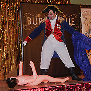 Pretty Boy Rock ,San Antonio, Texas preforms at the London Burlesque Festival the VIP Opening Gala at Conway Hall on 18th May 2017, UK. by See Li