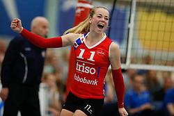 20170430 NED: Eredivisie, VC Sneek - Sliedrecht Sport: Sneek<br />Roos van Wijnen (11) of VC Sneek  <br />©2017-FotoHoogendoorn.nl / Pim Waslander