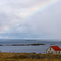 """According to """"Wikipedia"""" - One theory suggests the first people to have visited Iceland were members of a Hiberno-Scottish mission or hermits, also known as Papar, who came in the 8th century, though no archaeological discoveries support this hypothesis. The monks are supposed to have left with the arrival of Norsemen, who systematically settled in the period circa AD 870-930. <br /> Recently archeologists have found the ruins of a cabin in Hafnir on the Reykjanes peninsula (close to Keflavík Airport). Carbon dating reveals that the cabin was abandoned between 770 to 880 AD, suggesting that someone had come to Iceland well before 874 AD."""