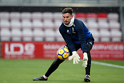 West Bromwich Albion goalkeeper Ben Foster during warm-up before the Premier League match at the Vitality Stadium, Bournemouth.