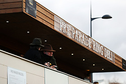 Racegoers soak up the atmosphere in the Pre Parade Ring Deli on St Patrick's Thursday at Cheltenham Racecourse