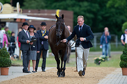Townend Oliver (GBR) - Black Tie<br /> Horse Inspection <br /> CCI4*  Luhmuhlen 2014 <br /> © Hippo Foto - Jon Stroud