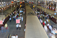 India, Bombay, Mumbai, railway station