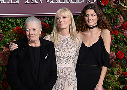 Vanessa Redgrave, Joely Richardson and Daisy Bevan (left-right) attending the Evening Standard Theatre Awards 2018 at the Theatre Royal, Drury Lane in Covent Garden, London. Restrictions: Editorial Use Only. Photo credit should read: Doug Peters/EMPICS