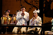 MADAMA BUTTERFLY by Giacomo Puccini. Sung in Italian with projected English translations. A production of the Florida Grand Opera 2004-2005 season. (El Nuevo Herald Photo/Gaston De Cardenas)