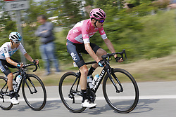 May 26, 2018 - Cervinia, ITALY - British Chris Froome of Team Sky pictured in action during stage 20 of the 101st edition of the Giro D'Italia cycling tour, 214km from Susa to Cervinia, Italy, Saturday 26 May 2018...BELGA PHOTO YUZURU SUNADA FRANCE OUT (Credit Image: © Yuzuru Sunada/Belga via ZUMA Press)